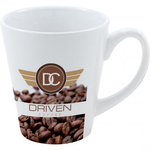 12 Oz. Full Color Stoneware Coffee House Mug