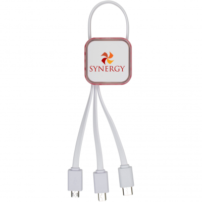 Multi-Function Charging Cable with MFI Lightning