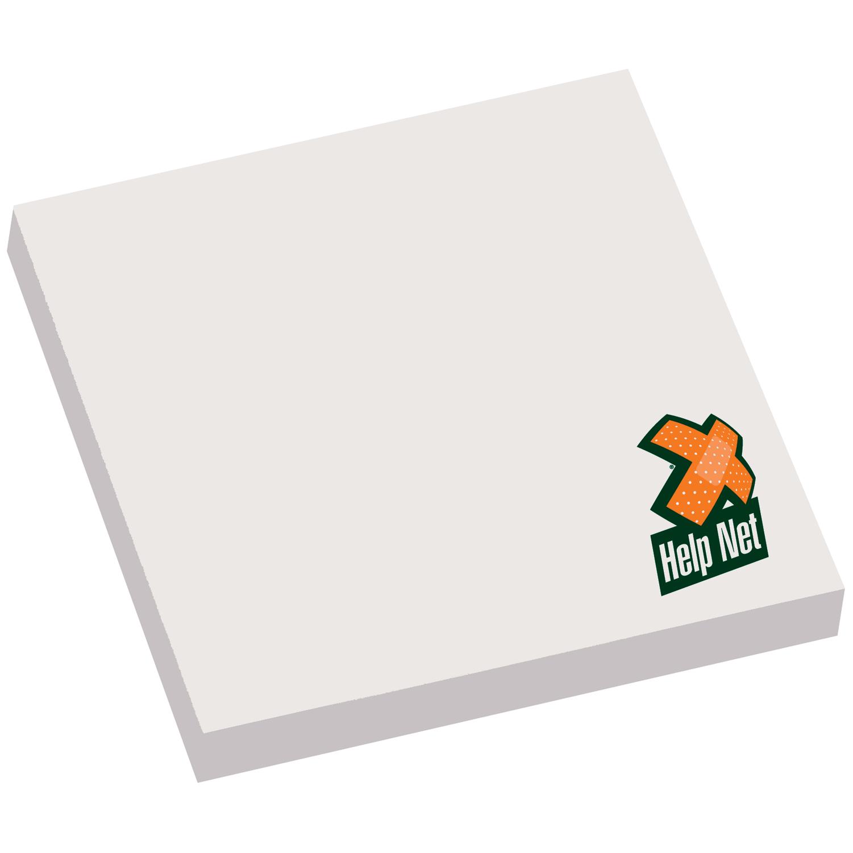 3 x 3 adhesive notepad 50 sheets gold bond promos