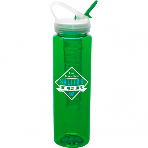32 Oz. Bottle w/ Ice Stick
