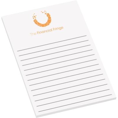 "4"" x 6"" Adhesive Notepad - 25 Sheets"