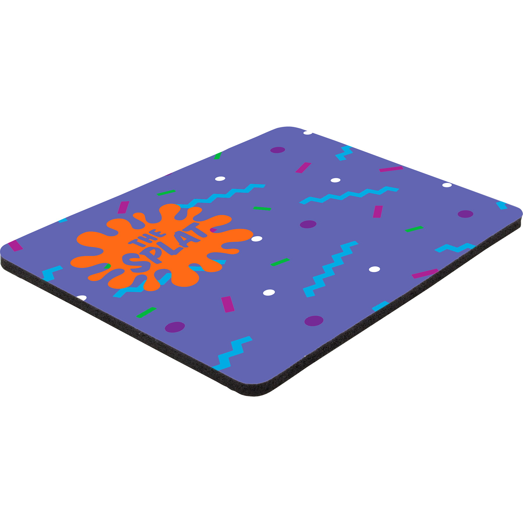 "6"" x 8"" x 1/8"" Full Color Hard Mouse Pad"