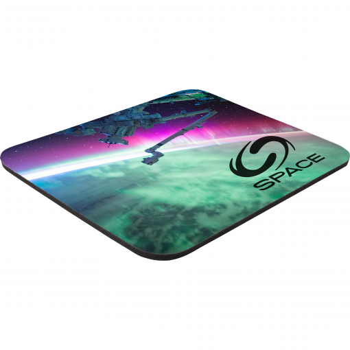 """8"""" x 9-1/2"""" x 1/4"""" Full Color Hard Mouse Pad"""