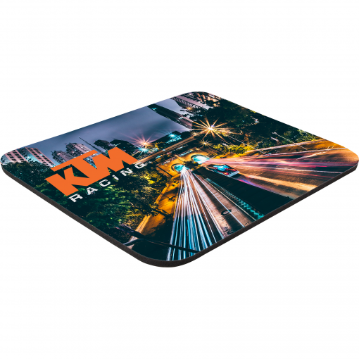 "8"" x 9-1/2"" x 1/8"" Full Color Soft Mouse Pad"