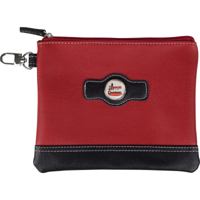 Two Tone Zipper Valuables Pouch