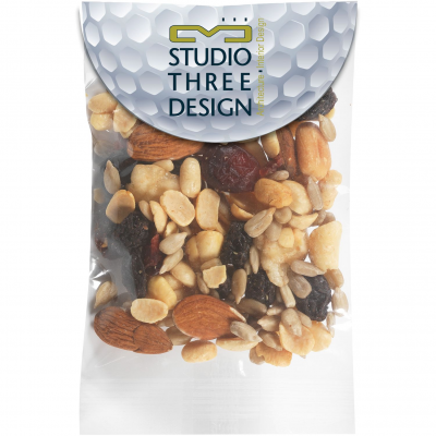 Circular Top Snack Bag - Trail Mix