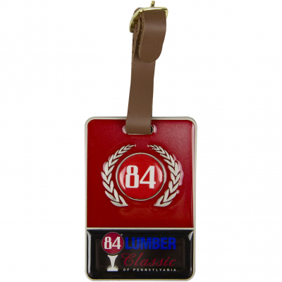 Metal Bag Tag with Colorfill
