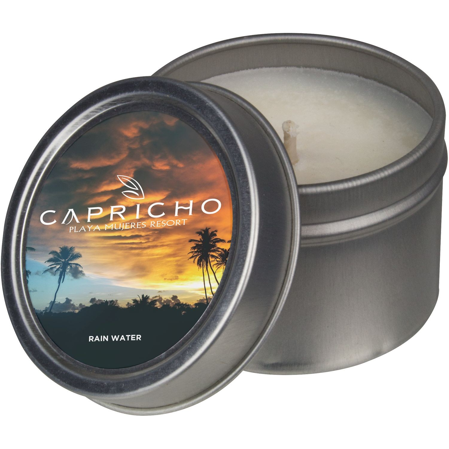 2 Oz. Candle Tin