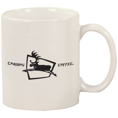 11 Oz. Windstone Ceramic Mug/White