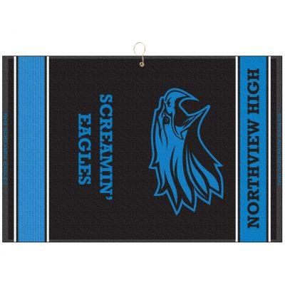 "16"" x 24"" Designer Woven Towel w/ Addl Scrubber-QS"