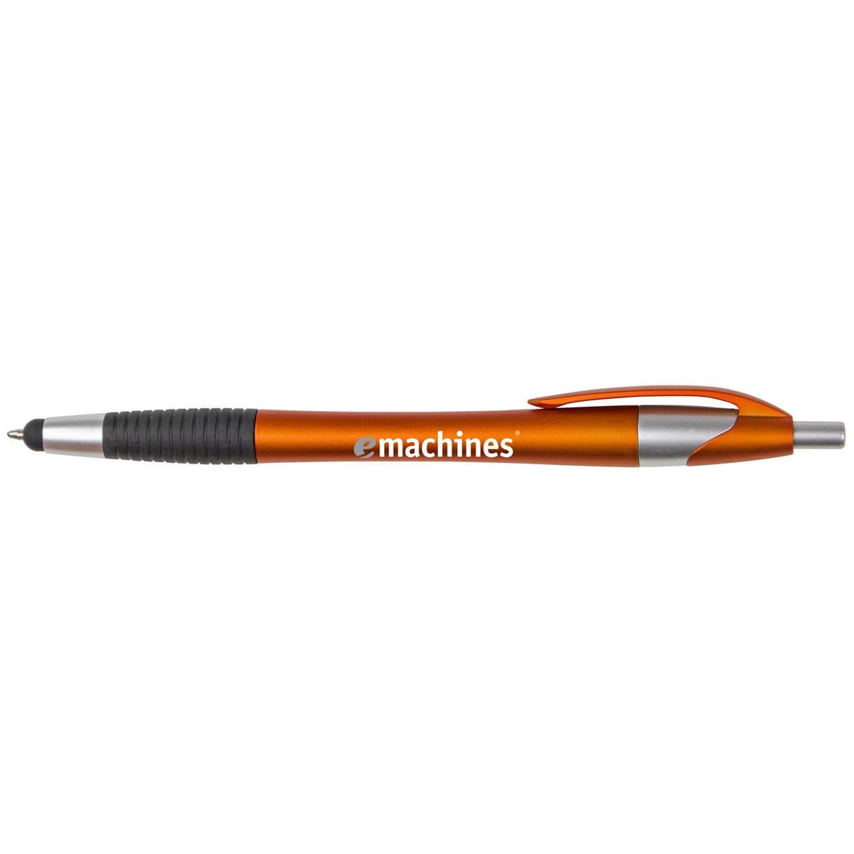 Archer2 Stylus Pen w/ Black Gripper & Blue Ink
