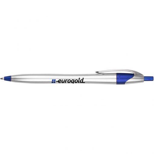 Archer3 Silver Pen w/ Metallic Colored Accents