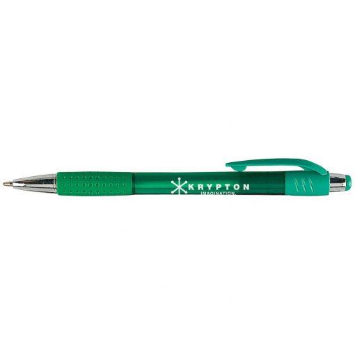 Krypton Translucent Pen w/ Matching Gripper