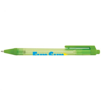 Solstice Super Glide Pen w/ Translucent Barrel