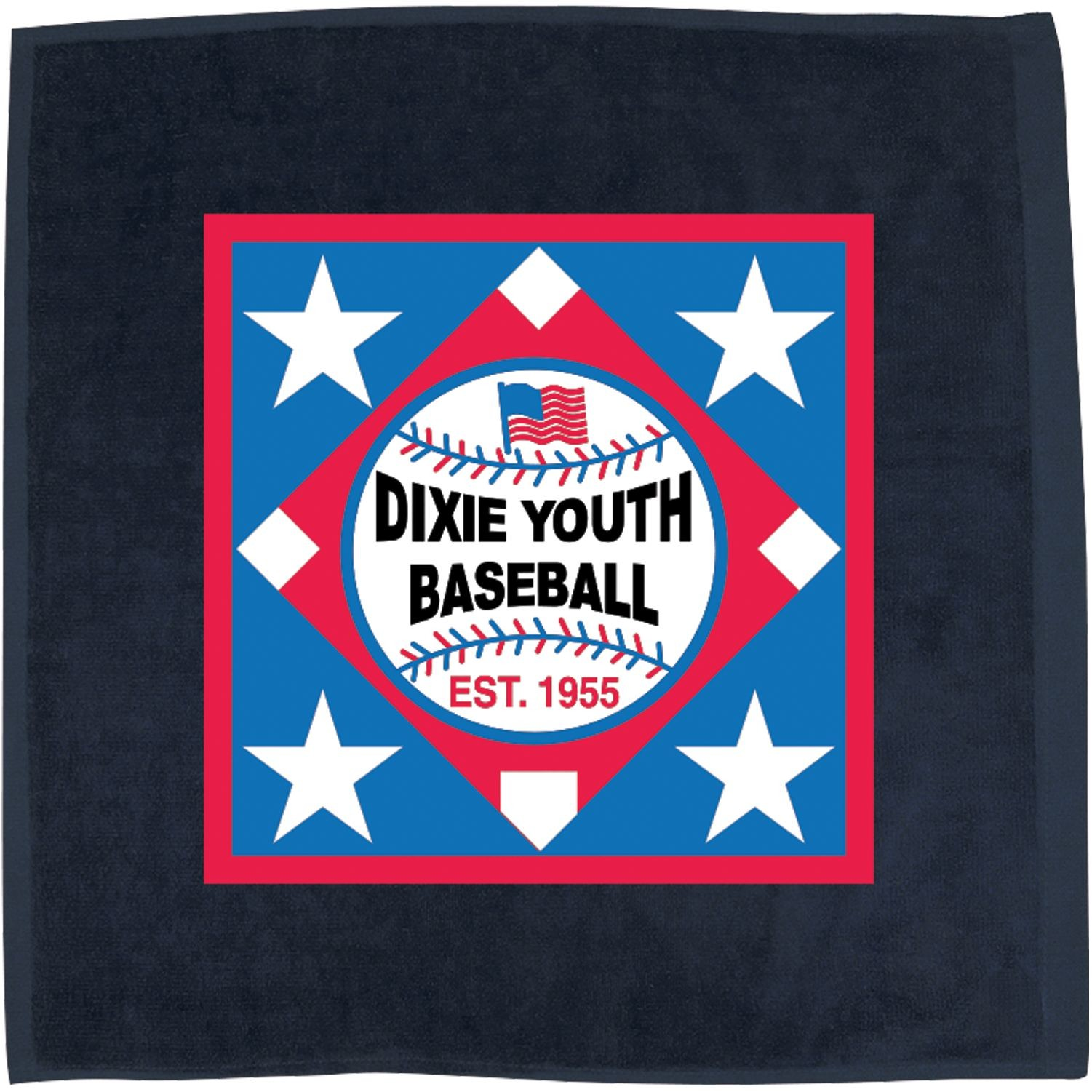 """15"""" x 15"""" Hemmed Color Rally Towel"""