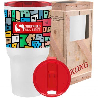 26 Oz. Full Color Kong Vacuum Insulated Tumbler