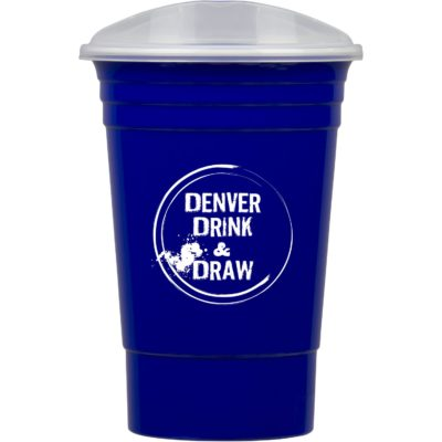 16 Oz. Party Cup w/Lid