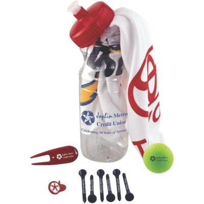 Basic Cart Caddy w/Volvik Vivid Golf Ball