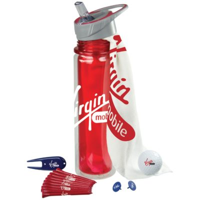 Hydrate Golf Kit w/Bottle