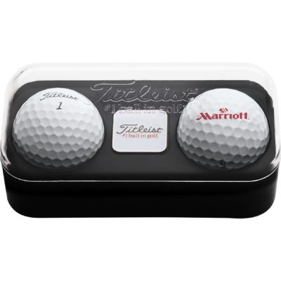 Titleist® 2-Ball Pack w/1 Ball Marker