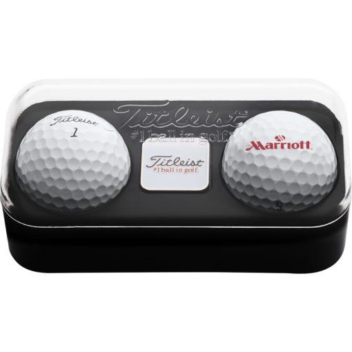 Titleist® 2-Ball Pack w/1 Ball Marker