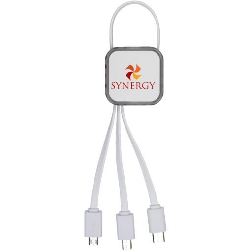Multi-Function Charging Cable w/MFI Lightning