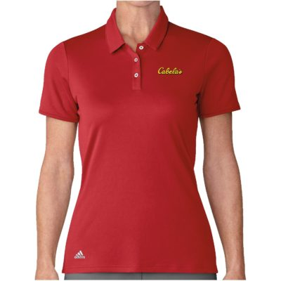 Lady Adidas Performance SS Polo Shirt