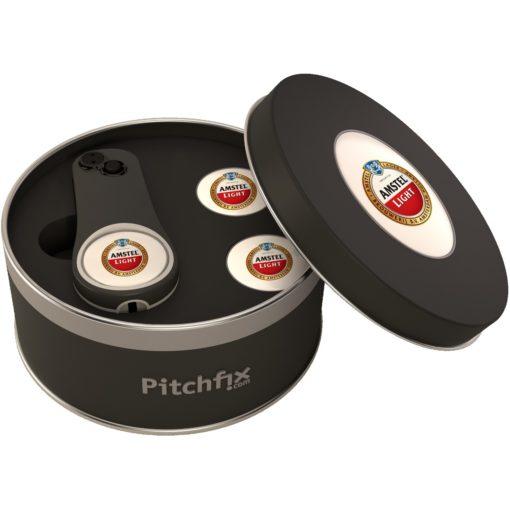 Pitchfix Fusion Single Pin Tin w/ 2 Ball Markers