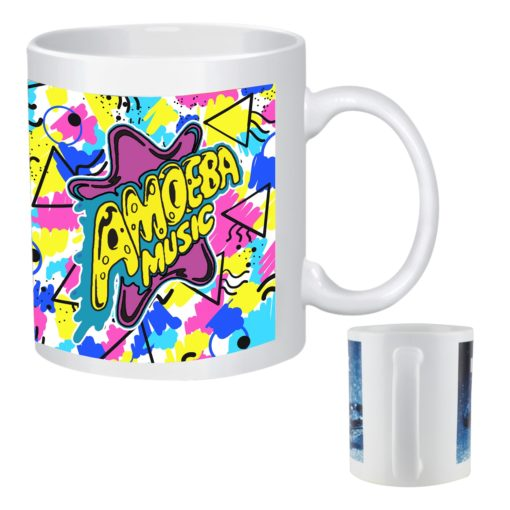 11 Oz. Full Color Stoneware Mug
