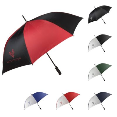 "60"" Metal Shaft Auto Open Umbrella"