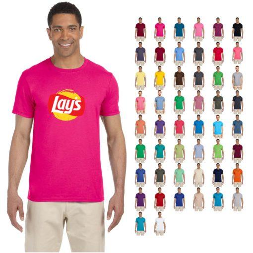 Gildan® Adult Softstyle® 4.5 Oz. T-Shirt Solid