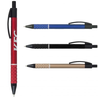 Super Glide Metal Pen with Black Accents
