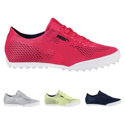 Puma Ladies Monolite Cat Woven Golf Shoe