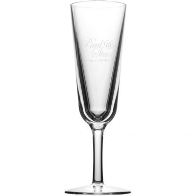 7 oz Champagne Flute While Supplies Last