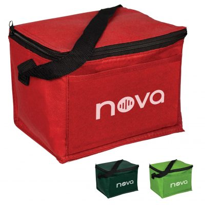 Non-Woven 6 Pack Cooler Bag While Supplies Last