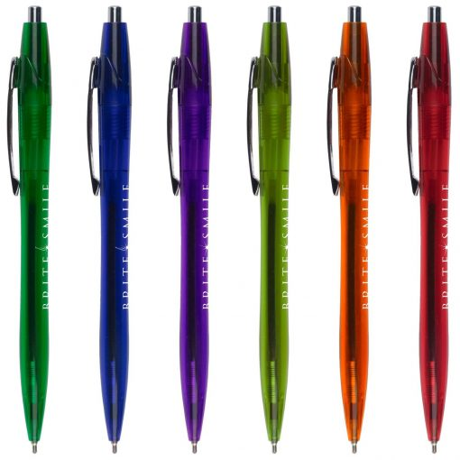 Sleek Translucent Super Glide Pen