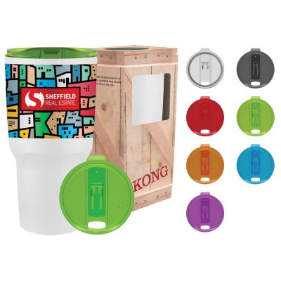 30 oz Full Color Kong Vacuum Insulated Tumbler
