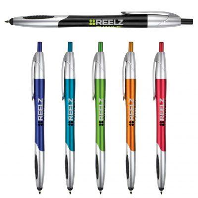 Kelby Stylus Pen w/ Silver Accents