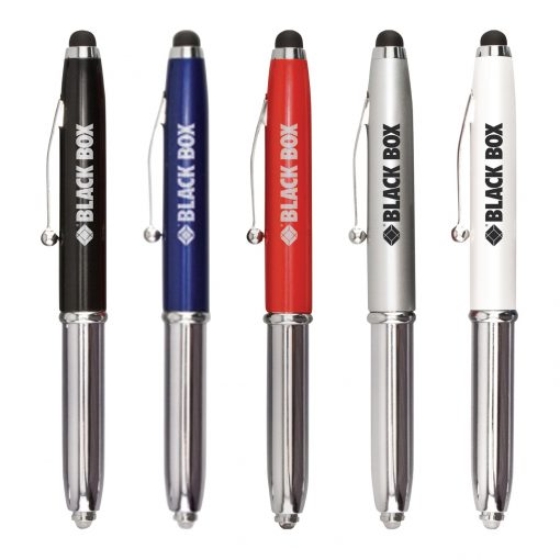 Metal Stylus Pen LED Light Free FedEx Ground Ship