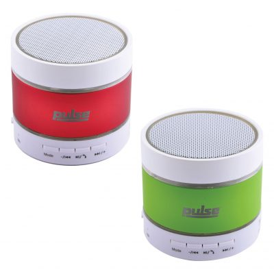 Pullse Bluetooth Speaker w/ Flashing LED Lights