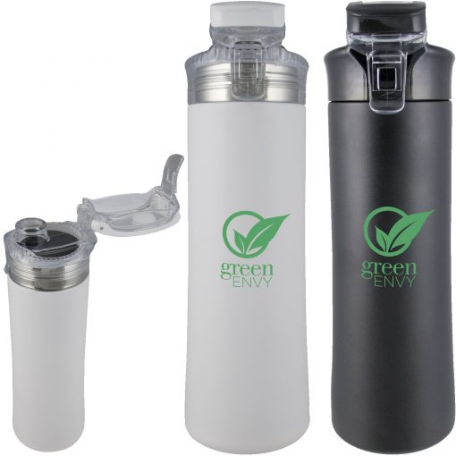 23 oz Double Wall Stainless Sports Bottle