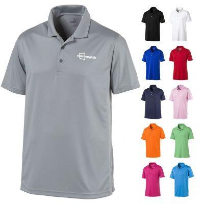 Puma Rotation Solid Polo Shirt