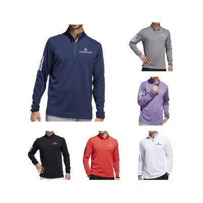 Adidas 3 Stripe Midweight Sweatshirt