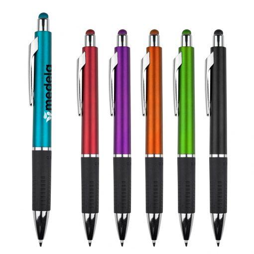 Bounty Metallic Stylus Gripper Pen