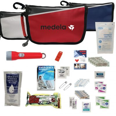 Deluxe Disaster Prep Emergency Safety Kit