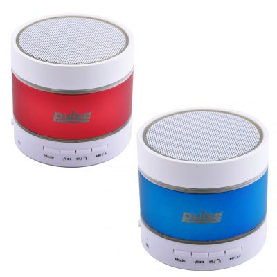 Pulse Bluetooth Speaker w/ Flashing LED Lights