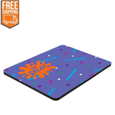 "6"" x 8"" x 1/8"" Full Color Hard Mouse Pad - Free FedEx Ground Shipping"