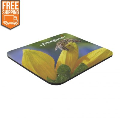 "8"" x 9-1/2"" x 1/4"" Full Color Soft Mouse Pad - Free FedEx Ground Shipping"