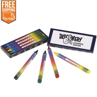 Crayons (4-Pack) - Free FedEx Ground Shipping