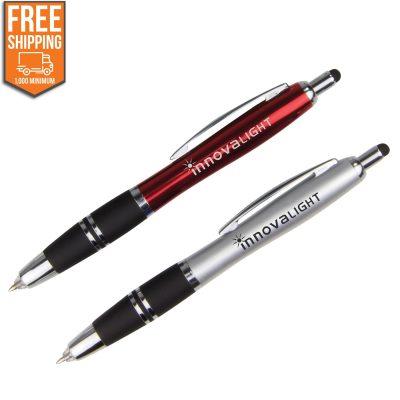 Metallic Write in the Dark LED Stylus Pen - Free FedEx Ground Shipping